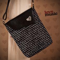 Černá taška Dafné -  Bonjour