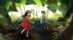 Ookami Kodomo no Ame to Yuki (The Wolf Children Ame And Yuki) Wallpaper - Zerochan Anime Image Board Anime Wolf, Anime Manga, Anime Art, 8k Wallpaper, Kids Wallpaper, Wolf Children Ame, Wolf Kids, Otaku, Japanese Animated Movies