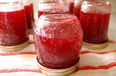 Fig Strawberry Preserves - apparently my grandmother used to make something similar!