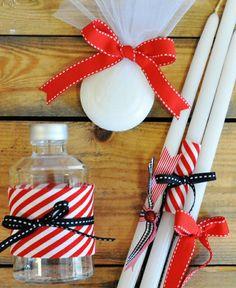 Βάπτιση αγόρι Charo Ruiz, Little Man, Easter Crafts, Christening, Diy And Crafts, Projects To Try, Birthday Parties, Gift Wrapping, Christmas Ornaments
