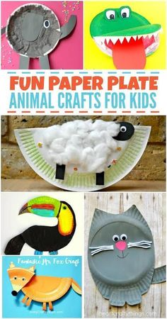 Fun Paper Plate Animal Craft Ideas for Kids