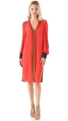 BCBGMAXAZRIA Oliana Panel Dress