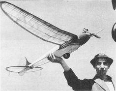 Bernie Schoenfeld 60'' Span IC FF, June 1944 Air Trails Pictorial