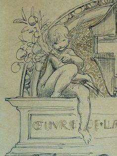 Details of drawing Museum Paris, Paris France, Vintage World Maps, Louvre, Portraits, Drawings, Drawing Ideas, Artwork, Dibujo