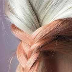 Blorange Hair - 10 Reasons Why is the New Black Pastel Hair, Pink Hair, Red Hair, Blorange Hair, Dye My Hair, Coral Hair Color, Hair Colours, Red Orange Hair, Latest Hair Color