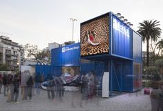 ZX FLUX Adidas Gallery / Arquitectos Asociados.lo #shippingcontainers