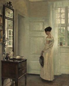 Carl Holsøe (1863-1935). Danish painter.