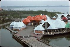Toronto's waterfront might still be years away from being transformed into Sidewalk Lab's neighbourhood of the future, but a look back in time reve. Ontario Place, Expo 67, Back In Time, 1970s, Toronto, The Neighbourhood, Canada, Culture, The Originals