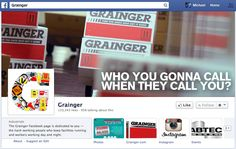 21) Wow! Grainger has a Facebook page. That's a bit surprising because they have a pretty stodgy image overall. That might be part of why it took me a while to start working with them (and very nearly didn't). Come to think of it, they don't seem to connect things together very well. For example, the catalog didn't seem to indicate that Grainger has a social media presence. Maybe that was buried on page 3,915.