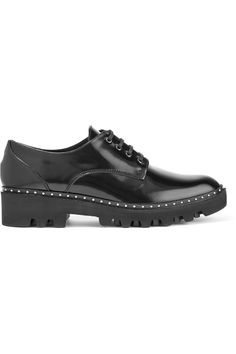Shop on-sale 8 Studded patent-leather brogues. Browse other discount designer Flat Shoes & more on The Most Fashionable Fashion Outlet, THE OUTNET.COM