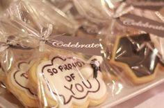 Decorated grad cookies