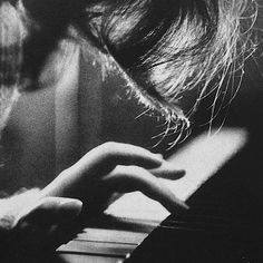 Deep into my heart you pressed / Hidden and forgotten keys / My muse, you reached beyond the rest / Bleeding yet I sing.