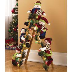 Новогодний дизайн how many snowmen does it take to climb a ladderÉ