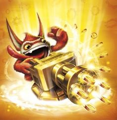 Trigger Happy Series 2 - Visit us at SkylanderNutts.com for more information about Trigger Happy Series 2 and all of the other Skylanders.