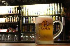 Barbar, cerveza belga de miel de alta fermentación. Tomada en la cervecería Dulle Griet, Gante.
