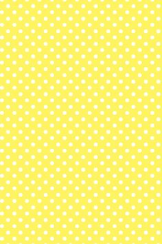 Yellow Polka dot wallpaper