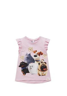 Clothing at Tesco | Universal Studios The Secret Life Of Pets Sleeveless T-Shirt > tops > Tops & T-shirts > Kids
