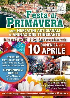 Festa di Primavera a Tavernola Bergamasca BG http://www.panesalamina.com/2016/45863-festa-di-primavera-a-tavernola-bergamasca-bg.html