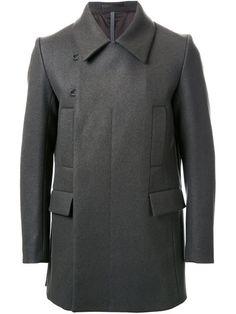 Shop Kazuyuki Kumagai double breasted coat.