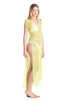 7978a13fabef0 Shore Trendz Women's Crochet Open Side Swimwear Cover-up Beach Dress M -  SHORETRENDZ Sexy