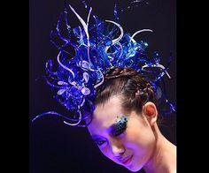 sea creature costume ideas | 10 Pretty, New Halloween Hair and Makeup Ideas
