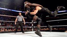 WWE Roman Reigns Spear