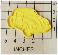 Volkswagen Beetle Bug VW Bug Shaped Cookie Cutter and Stamp *** Remarkable product available : baking gadgets Beetle Bug, Vw Beetles, Baking Gadgets, Ice Molds, Shaped Cookie, Love Bugs, Coupon Organization, Sweet Desserts, Handmade Crafts