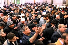 Five Big Considerations for the US as Climate Change Sweeps the Globe   Moyers.com   Thousands of Syrian Muslims pray for rain at the Grand Umayyad Mosque in central Damascus on December 29, 2006. (AP Photo Bassem Tellawi).