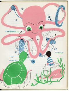 Jonathan and the Octopus by Celeste K. Foster T.S. Denison Company. 1958