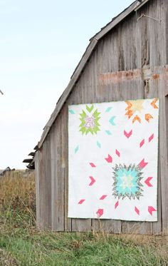barn dance quilt pattern by V and Co.