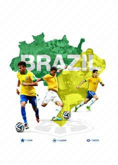 Brazil World Cup 2014 Football Ads, Brazil Football Team, Brazil Team, Football Design, Neymar Brazil, Football Today, Team Wallpaper, Football Wallpaper, Brazil Wallpaper