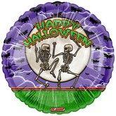 """18"""" Happy Halloween Balloon Bones"""