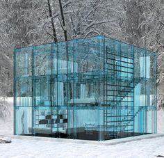 Transparent House, England