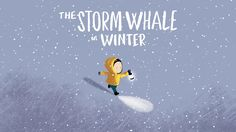 """Animated trailer for Benji Davies' new picture book """"The Storm Whale In Winter"""".  Publishing 22 September 2016 in the UK.  Soon available in German,…"""