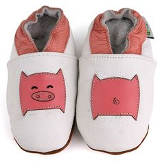 Little Pig Soft Sole Leather Baby Shoes | Overstock.com