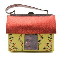 I have this! The Moschino Yellow House Handbag.