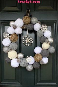 Creative Ideas for DIY Wreaths 2014