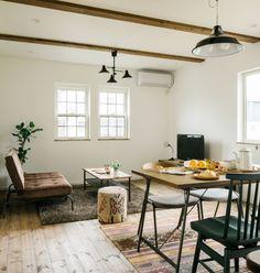 ★★★グラッソモデルハウス Natural&Antique House カフェ風なダイニングとキッチンは ナチュラルとインダストリアルな素材を 使った、かわいさとかっこよさを 持ち合わせたインテリアです。 家族の健康に配慮した天然素材を用いたり、 オリジナルのキッチンや洗面を備えたり、 こだわりを理想のカタチにしたモデルハウス。 ホビースペースも充実しているので、 趣味も存分に楽しめるライフスタイルを かなえてくれそう♪グラッソモデルハウス Natural&Antique House - かわいい家photo