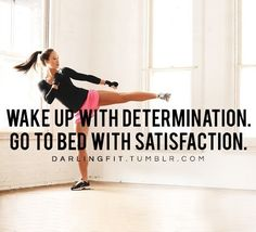 Wake up with determination, go to bed with satisfaction! Come get your fitness on at Powerhouse Gym in West Bloomfield, MI! Just call (248) 539-3370 or visit our website powerhousegym.com/welcome-west-bloomfield-powerhouse-i-41.html for more information!