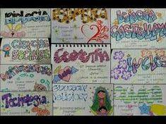 Resultado de imagen para diseño de cuadernos de tecnologia Page Decoration, Stabilo Boss, Online Business, Back To School, Diy And Crafts, Doodles, Notebook, Bullet Journal, Letters