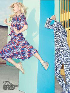 FLOWER POWER (Teen Vogue) Teen Vogue, Flower Power, Short Sleeve Dresses, Stylists, Flowers, Model, Fashion, Moda