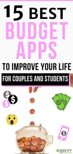 15 Best Budgeting and Personal Finance Apps in Canada for 2020 : 15 best budgeting apps in Canada. Want to budget better and save more money? These best budgeting and personal finance apps will help you improve your finances quickly! Best Budget Apps, Apps For Couples, Personal Finance App, Budget Spreadsheet, Budget Planer, Budgeting Finances, Budgeting Tips, Budgeting Apps Iphone, Canada