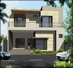 modern house front elevation designs - Google Search