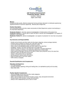 assembly line resume production line worker resume - Sample Resume Production Worker