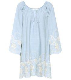 Codre embroidered cotton dress