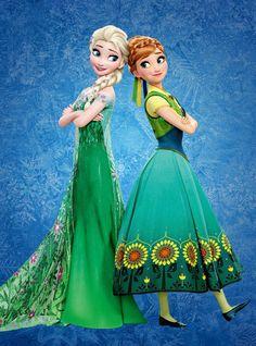 Коронация (OST Холодное сердце/ Frozen) Анна и Эльза