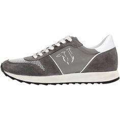 toffe Trussardi 77s064 sneakers men textile fabric heren sneakers (Grijs)