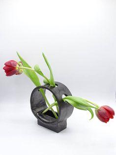 Retro Ceramic Vase Minimalist Vase Flower Frog Type Vase