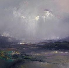 falling light series, painting no. 2. Oil on canvas 100 x 100 cm SOLD