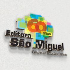 Z! Studio - Portfolio - Identidade Visual Editora São Miguel 60 Anos
